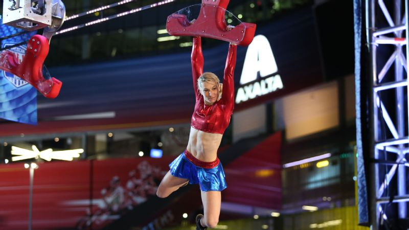 Jessie Graff competed in Daytona Beach qualifying, and once again qualified for the city finals.