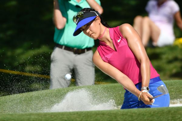 Hawaii's Wie Shoots Opening Round-68 at KPMG Women's PGA Championship