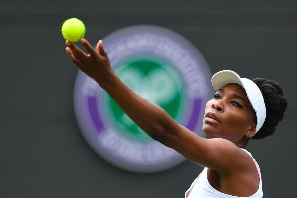 Five-time Wimbledon champion Venus Williams reached the semifinals at the All England Club last year.