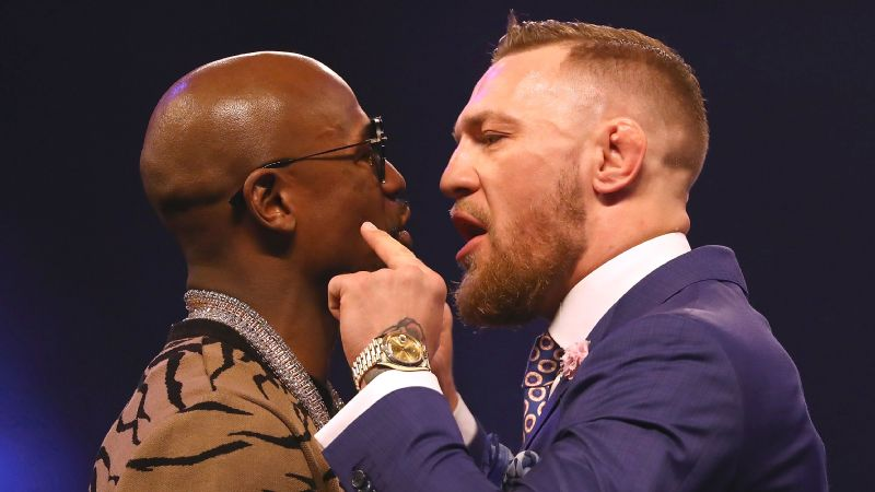 On their four-day, four-city media tour, Floyd Mayweather Jr. and Conor McGregor started trading bigoted and misogynistic insults.
