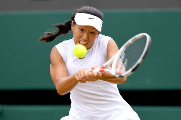 Claire Liu emerged victorious in an all-American final to win the girls' junior title at Wimbledon.