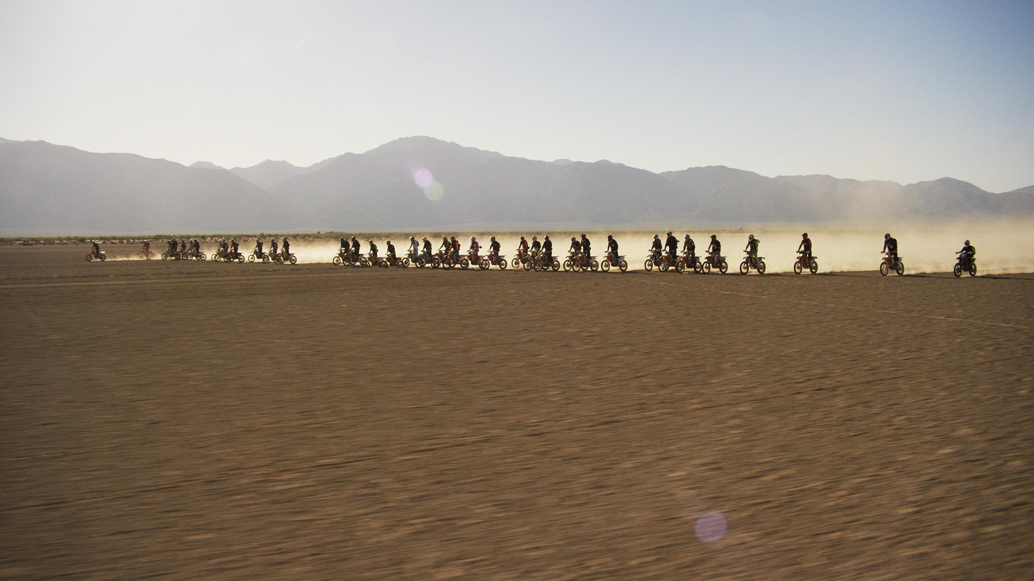 Hitting the open desert