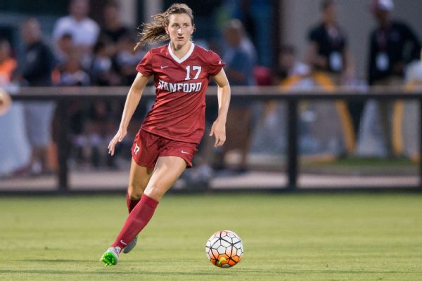 Former South Carolina soccer star selected No. 2 overall in pro draft