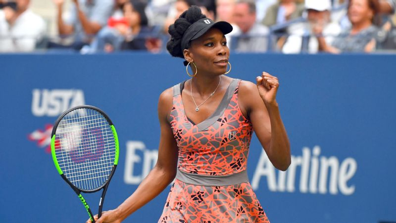 Despite the news of her new niece, Venus Williams kept her focus on tennis Friday at the US Open.