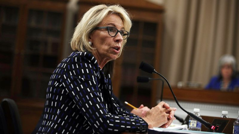 The U.S. Department of Education, led by Secretary Betsy DeVos, released a Dear Colleague Letter on Friday rescinding previous policy regarding sexual violence and Title IX.