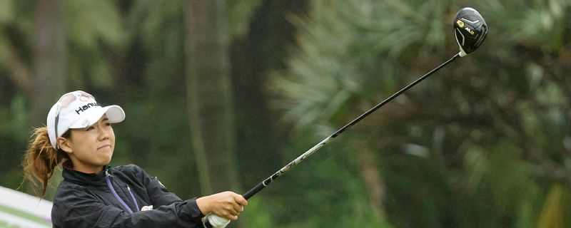 South Korea's Jenny Shin is in contention after two days of the Taiwain Championship.
