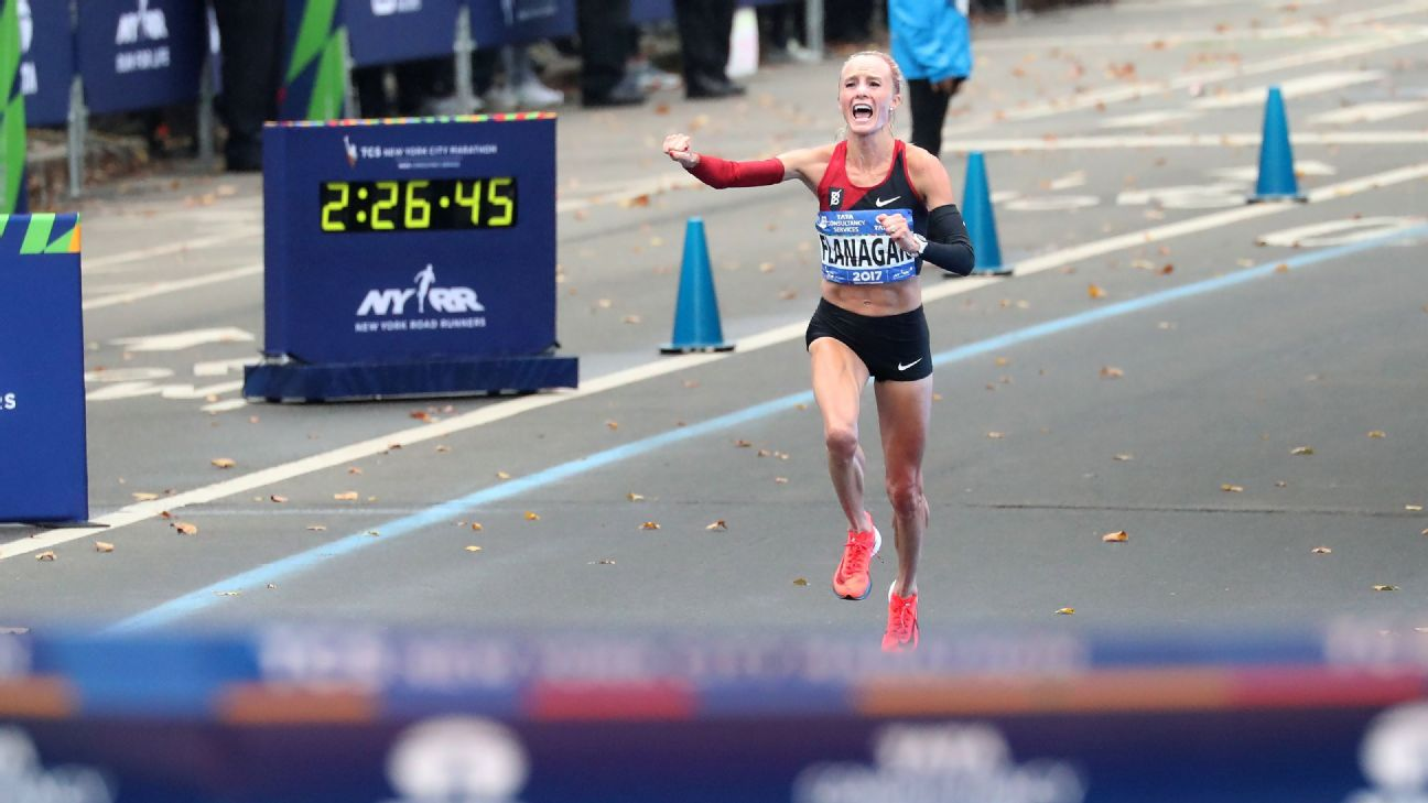 Shalane Flanagan outpaced Mary Keitany on Nov. 5 and became the first American woman to win the New York City Marathon since 1977.