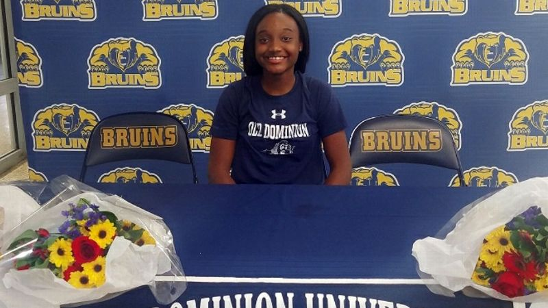 Aziah Hudson, Old Dominion