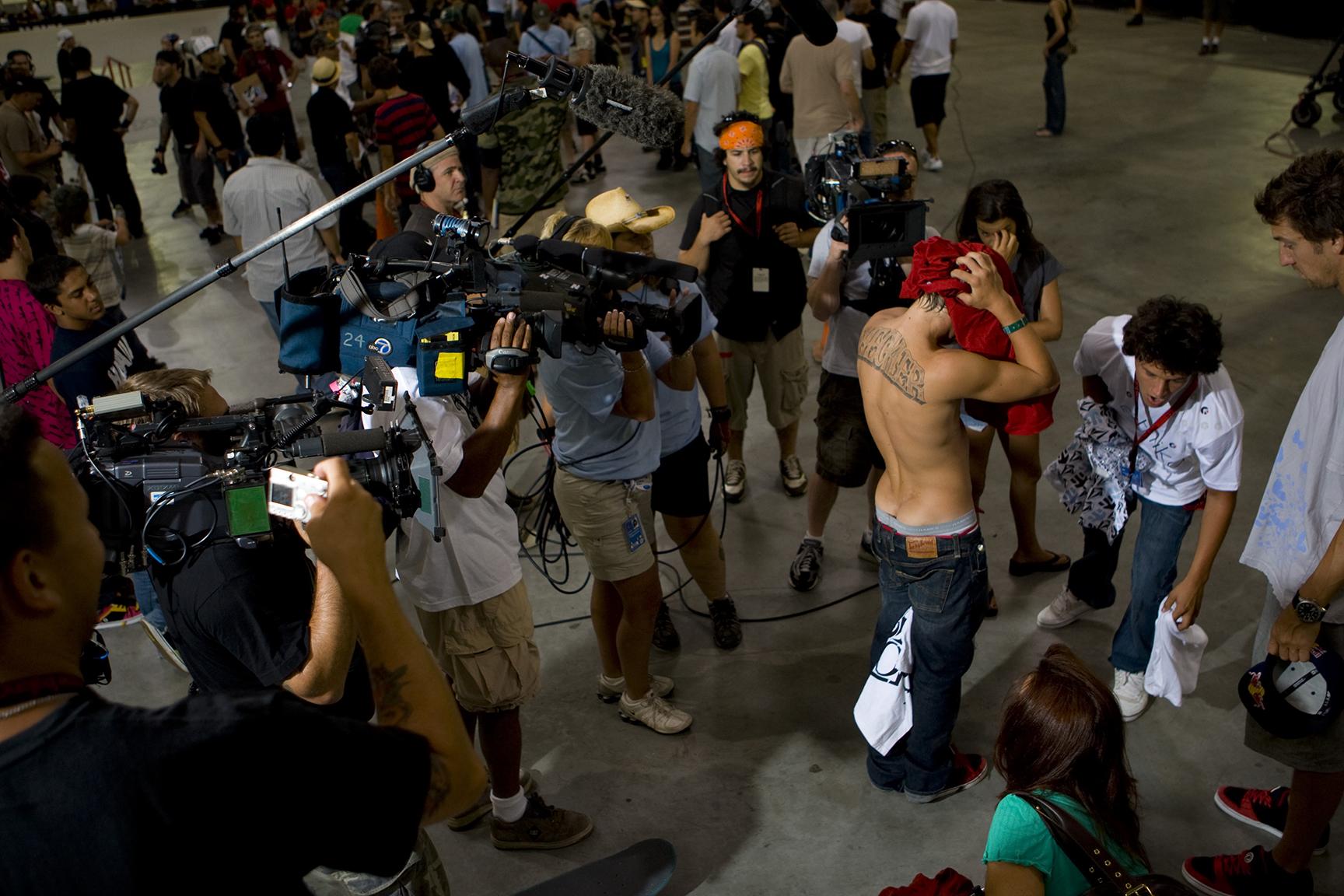 Media swarm