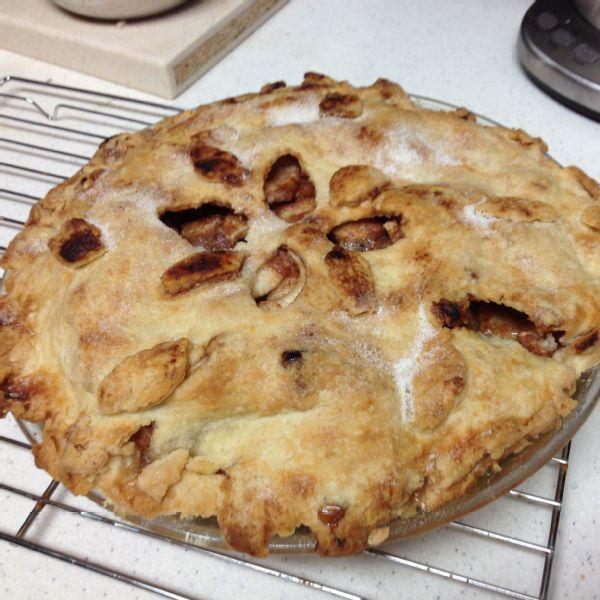 Gwen Jorgensen's mom's pecan pie.