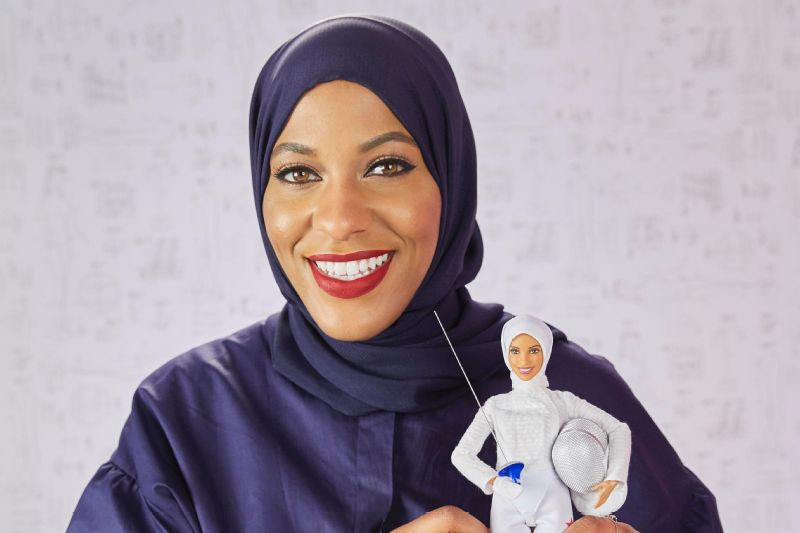 Olympic medalist Ibtihaj Muhammad is Barbie's latest Shero.