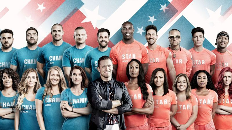 Olympian Kim Glass and Challenge veteran Emily Schromm are featured in MTV's Champs vs. Stars.