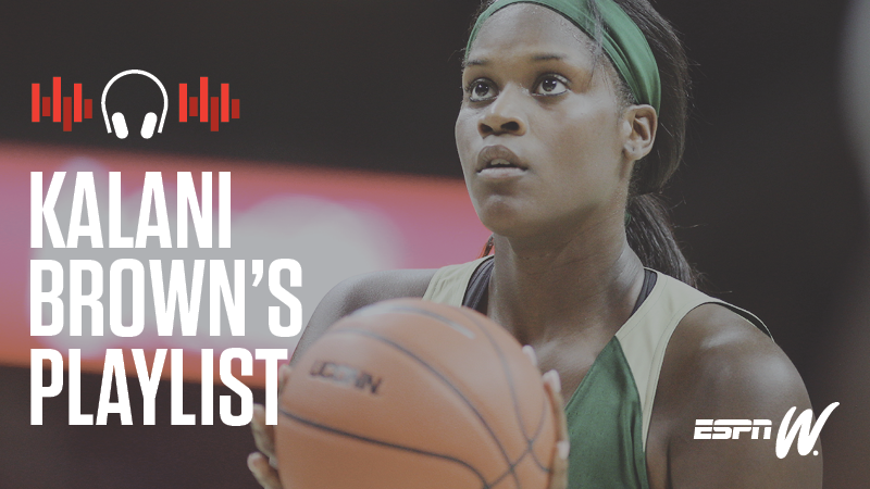 espnW Spotify Playlist - Kalani  Brown