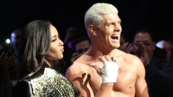 Cody and Brandi Rhodes have enjoyed individual successes, as well as triumphs in tandem.