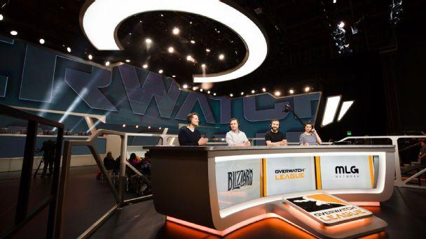 Overwatch League broadcast crew