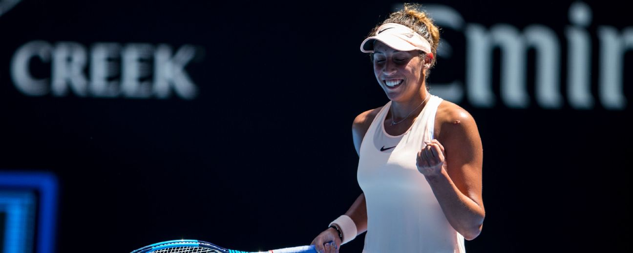 Madison Keys has beaten Angelique Kerber only once in seven meetings.
