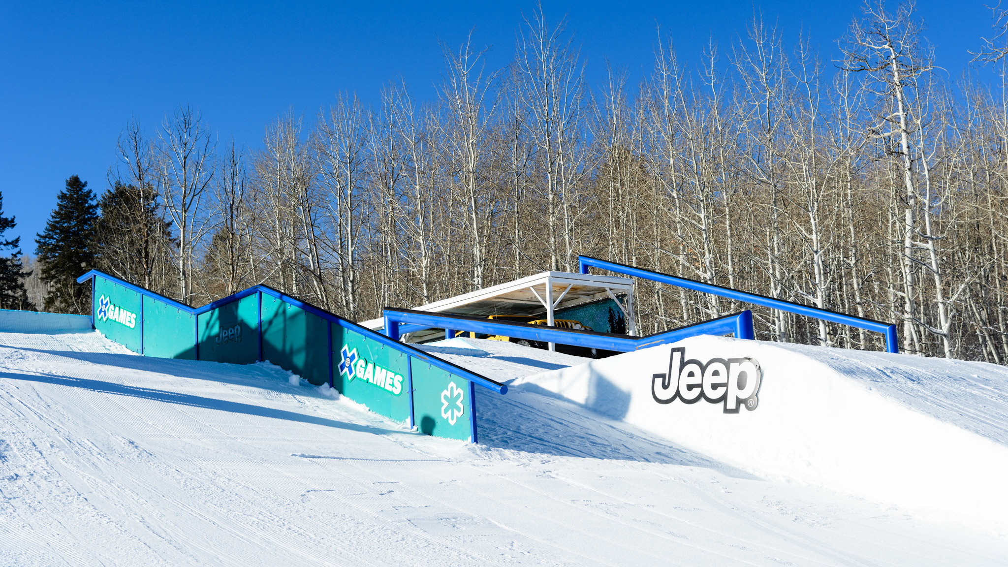 Slopestyle Feature 1, Bottom View