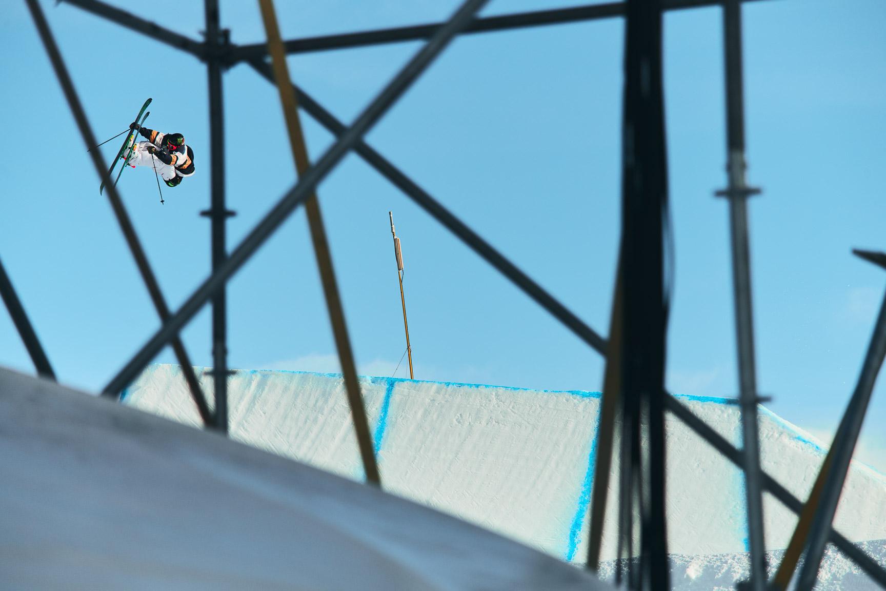 Henrik Harlaut, Men's Ski Slopestyle practice