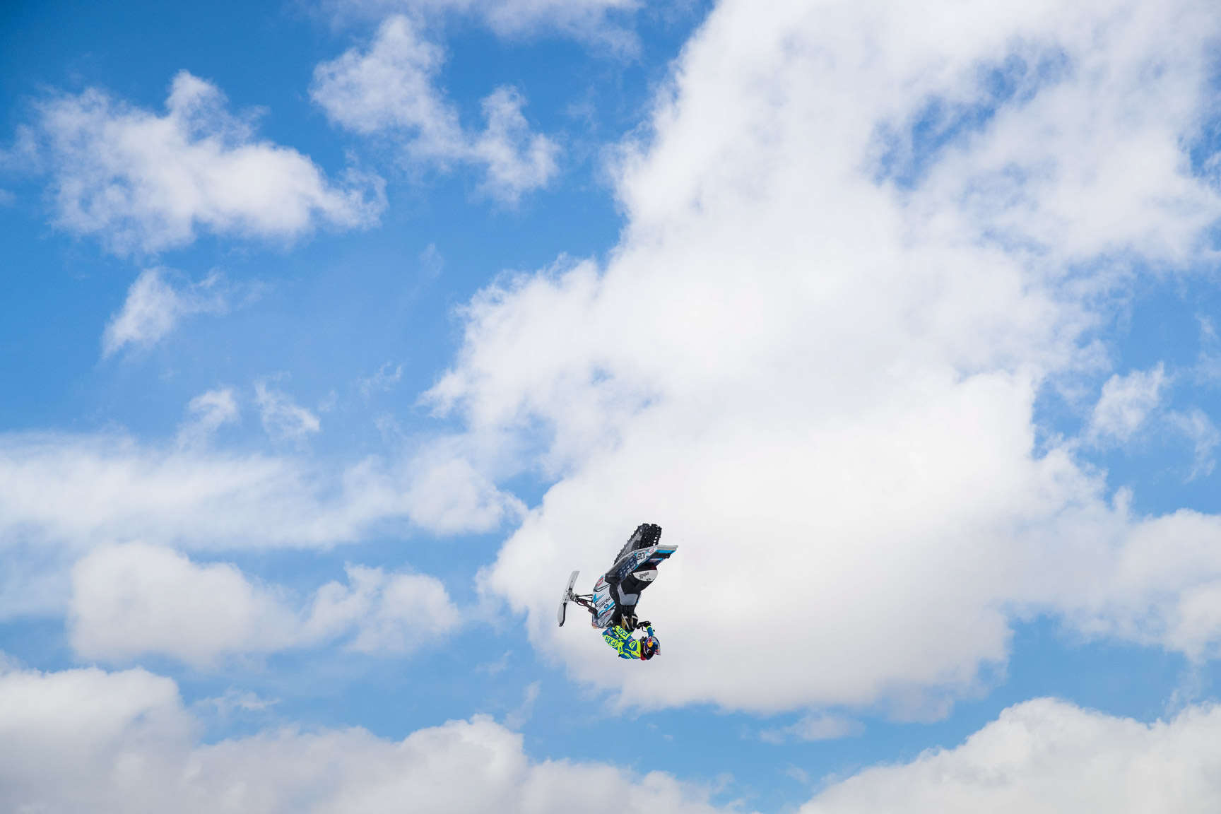Levi LaVallee, Snomobile Freestyle practice