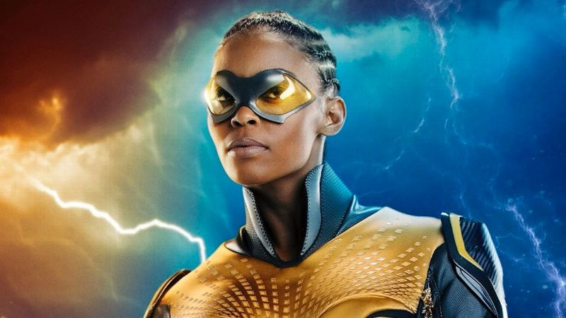 Nafessa Williams plays Thunder in The CW's Black Lightning.