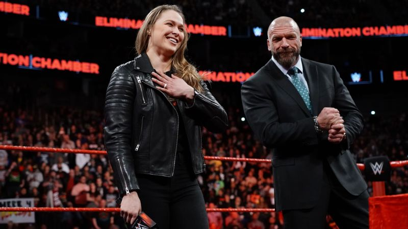 Rousey and Triple-H