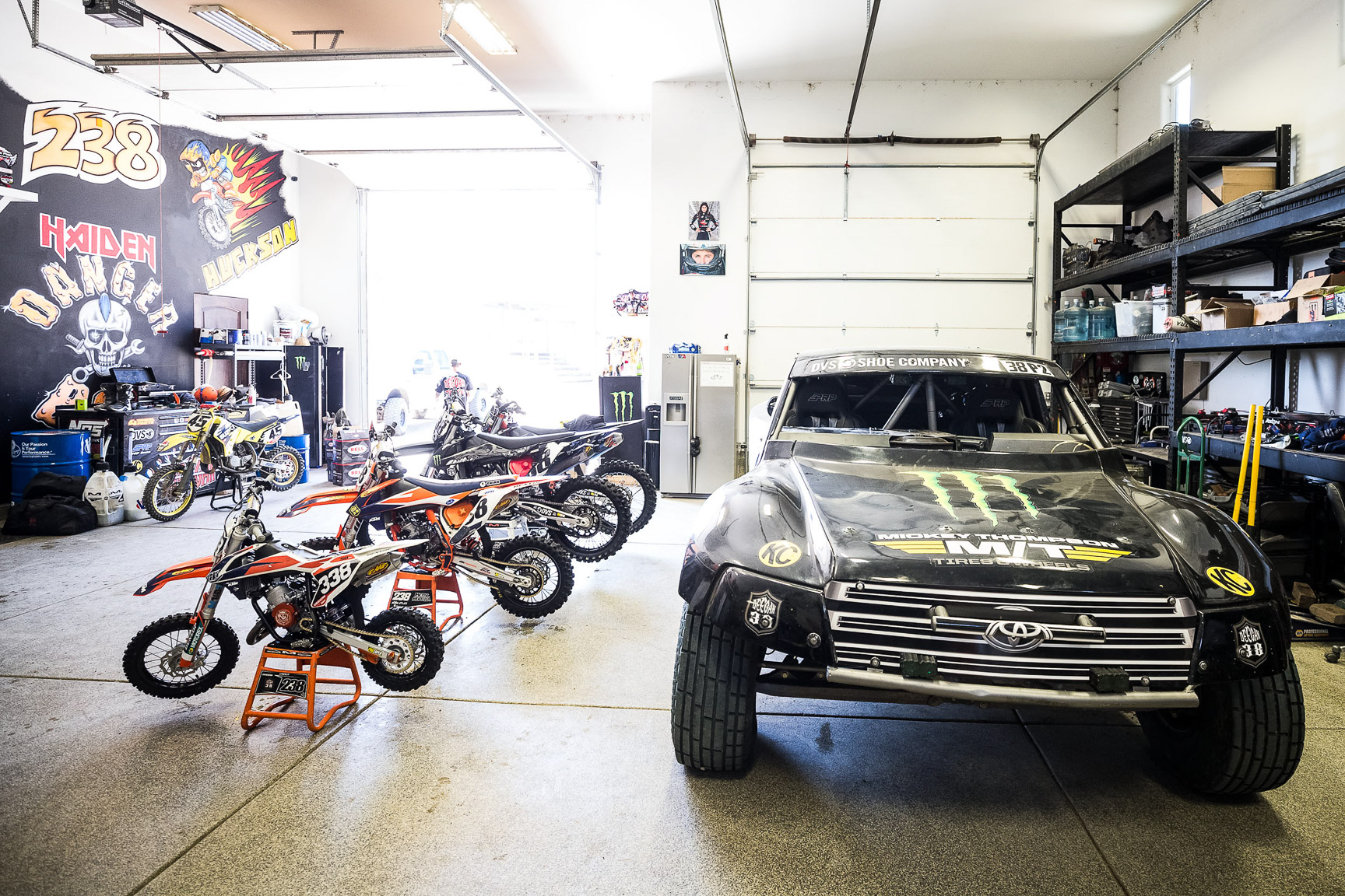 The Deegan garage