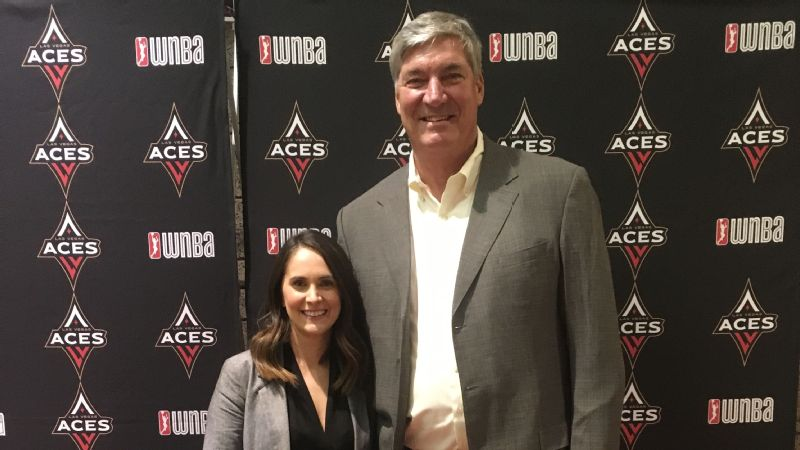 For as many peeks as Christine Monjer has had at Aces coach Bill Laimbeer's whiteboard, she doesn't know for certain which player Las Vegas will draft first overall on Thursday.