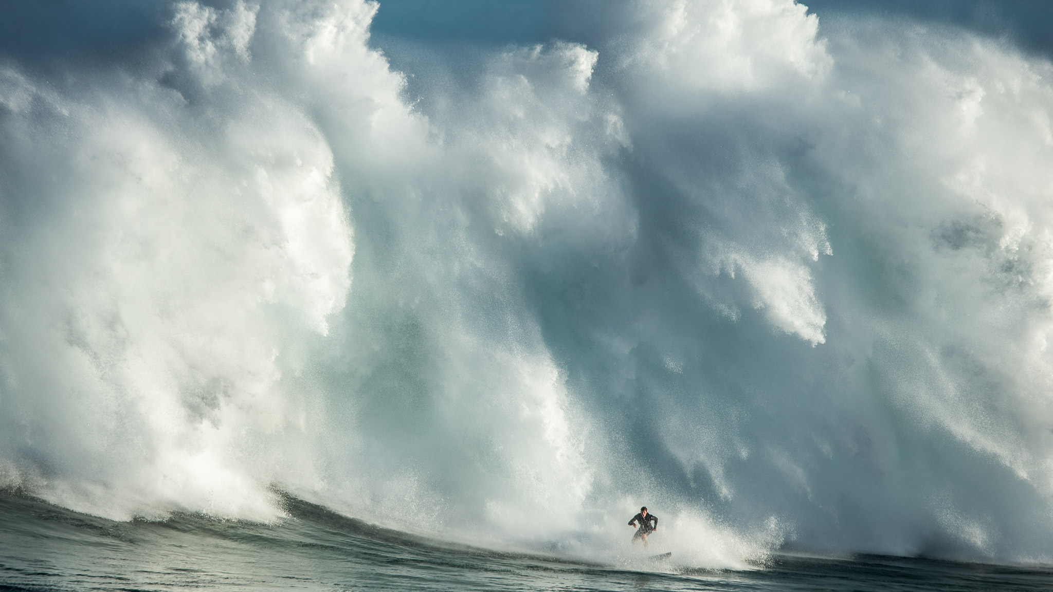 Nathan Florence, Jaws, Hawaii