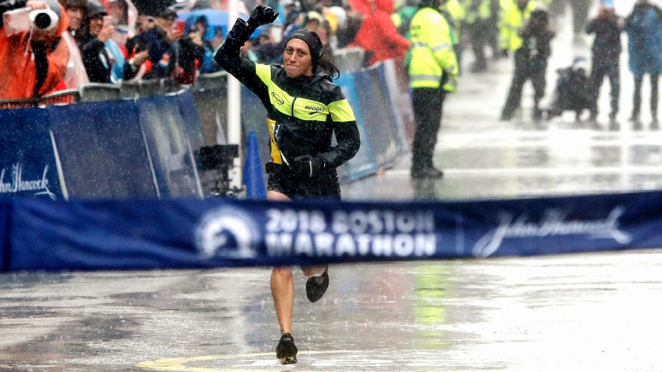 Olympian Desiree Linden, 34, became the first American woman to win the Boston Marathon since 1985 on Monday,