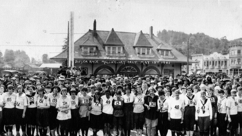 Women first raced in the Dipsea Hike 54 years before they were allowed to enter the Boston Marathon.