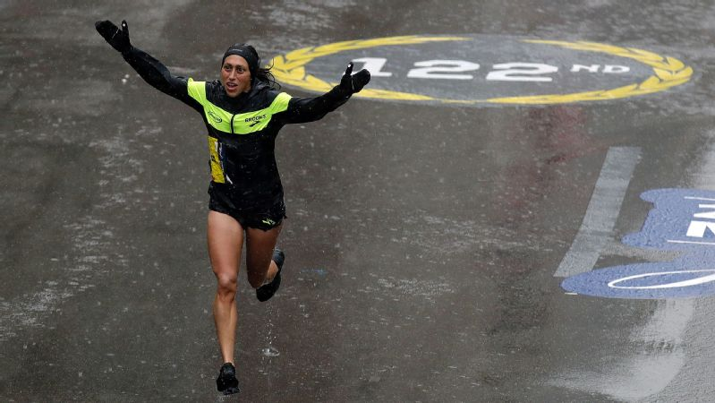 Boston Marathon champ Desiree Linden knew one thing before she started the 26.2-mile race in the cold, wind and rain, 'Its gonna hurt like hell.'