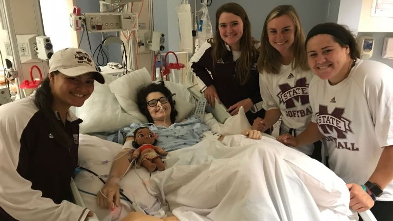 Mississippi State players have marveled at the courage Alex Wilcox has shown.
