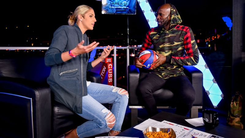 Elena Delle Donne is just one of many WNBA stars to appear on Area 21.