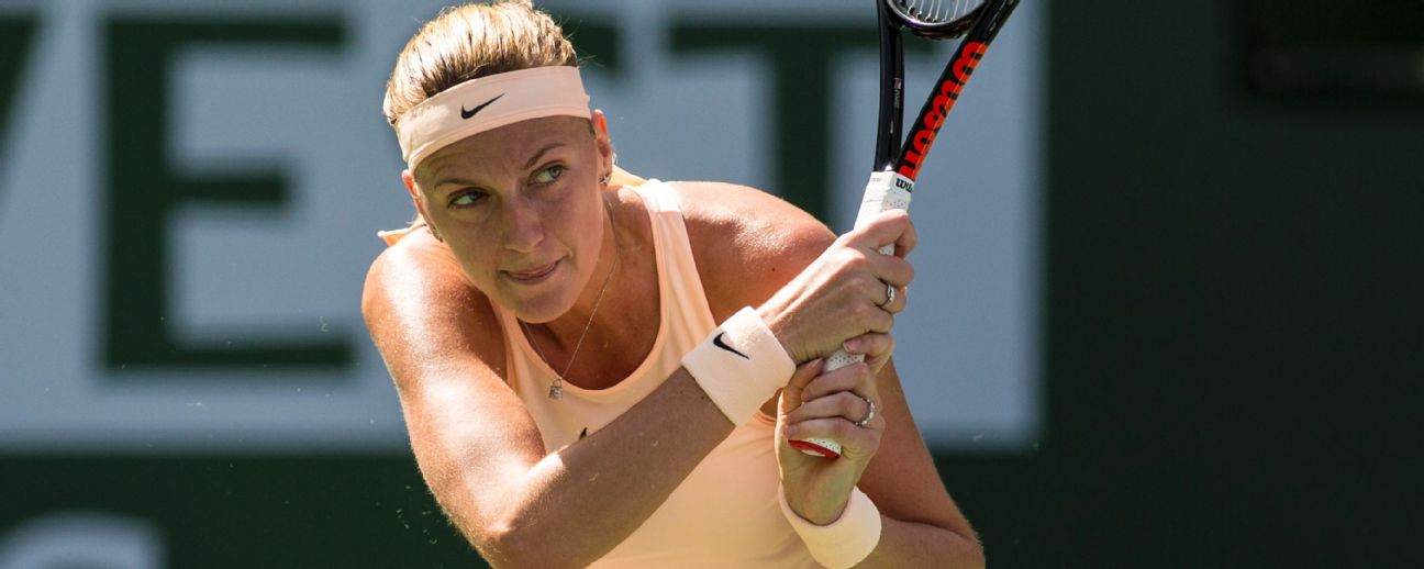 Czech tennis star Petra Kvitova refused to let a violent attack end her career.