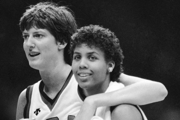 Anne Donovan and Cheryl Miller