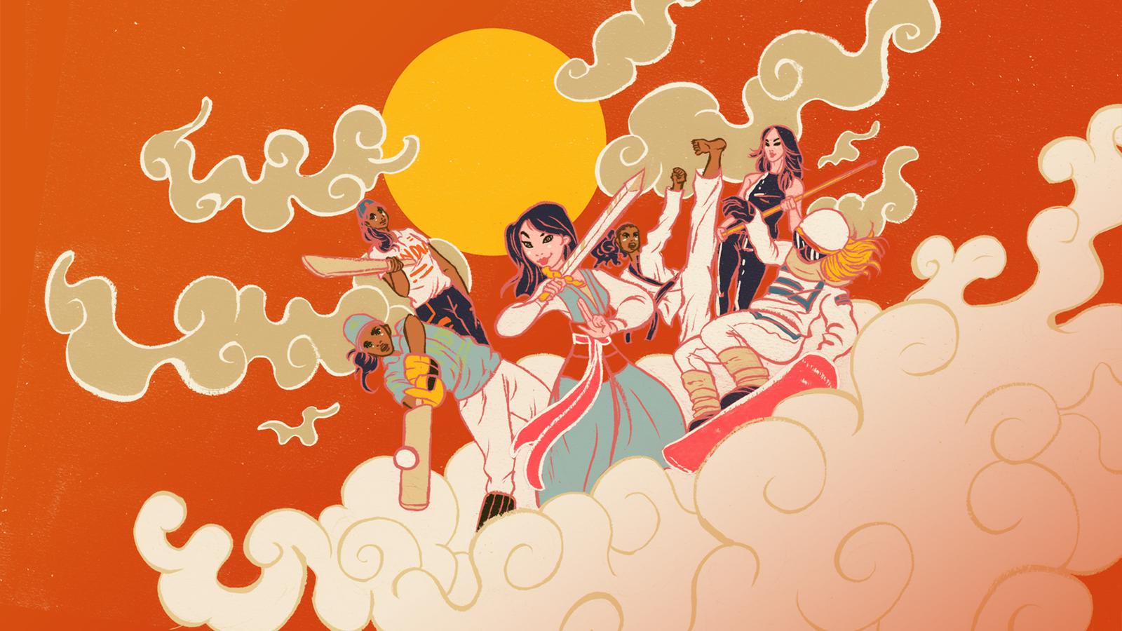 espnW Mulan 20th Anniversary