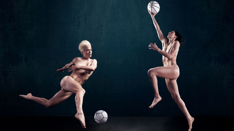 Megan Rapinoe and Sue Bird, ESPN The Magazine, Body Issue, Body 10
