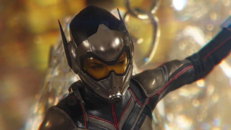 Actress Evangeline Lilly plays Hope van Dyne and The Wasp in Ant-Man and the Wasp, out on Friday.