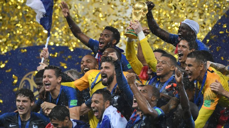 France took home the World Cup in 2018, but will it be as successful in Qatar next time out?