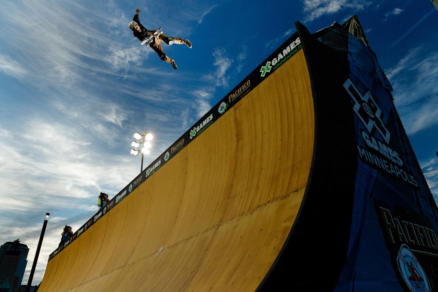 Italo Penarrubia, Skateboard Vert qualifier