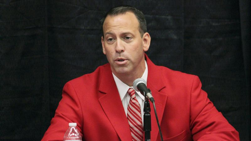 New Mexico director of athletics Eddie Nuez (pictured) and school president Garnett S. Stokes recommended the elimination of four sports to help reduce a budget deficit.