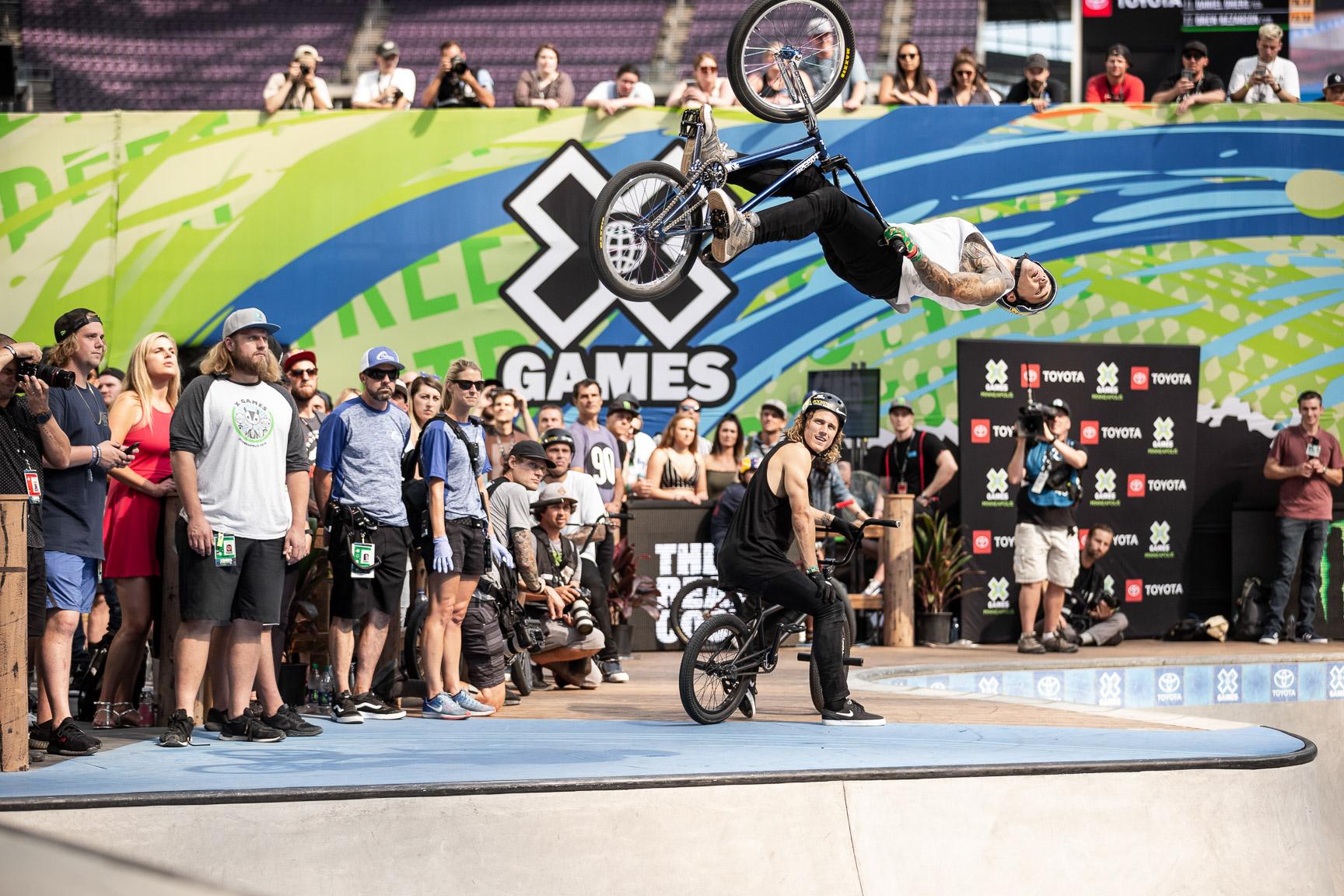 Logan Martin, BMX Park final