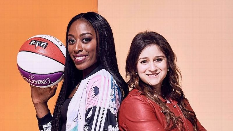 Sports agent Allison Galer, right, and client Chiney Ogwumike are a dynamic duo.
