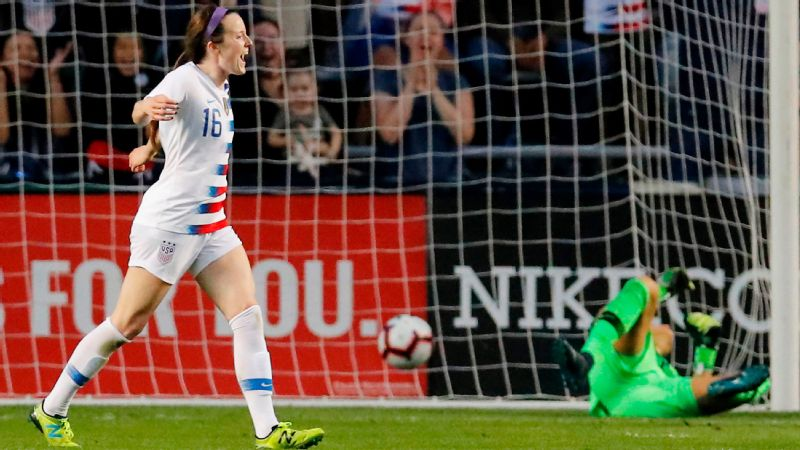 USA clinches Tournament of Nations with 4-1 win over Brazil