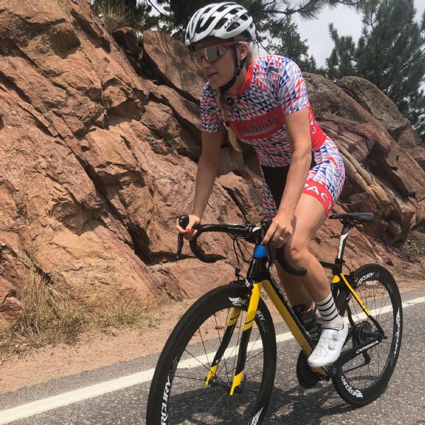 Speed skater and cyclist Mia Kilburg has built her workout regimen around improving in both sports.