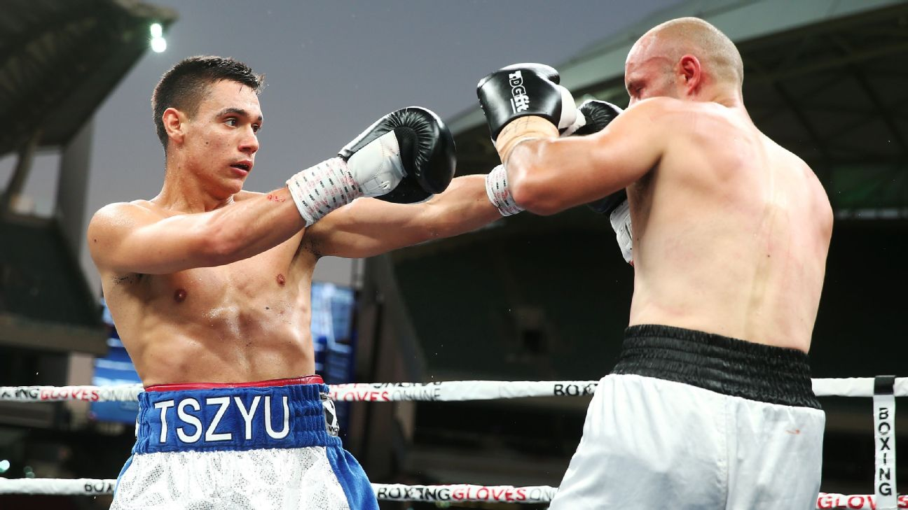 Tszyu Jr. prepares to become a new star of world boxing 18