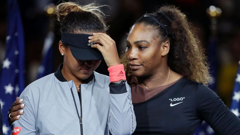 There should have been only tears of happiness for Naomi Osaka after winning the US Open.