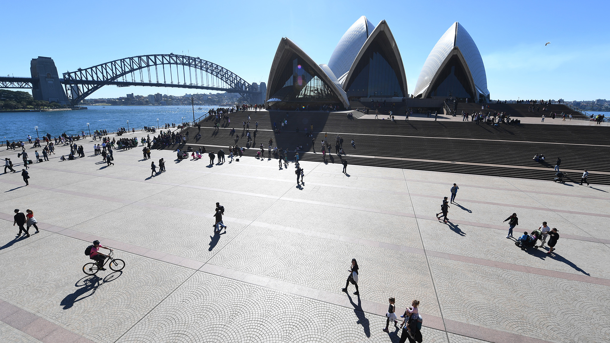 The heart of Sydney
