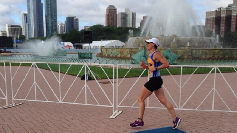 Before she began feeling symptoms of Chronic Inflammatory Demyelinating Polyneuropathy (CIDP), Lynn Rogers had run 10 Chicago Marathons and completed an Ironman in Madison, Wisconsin.