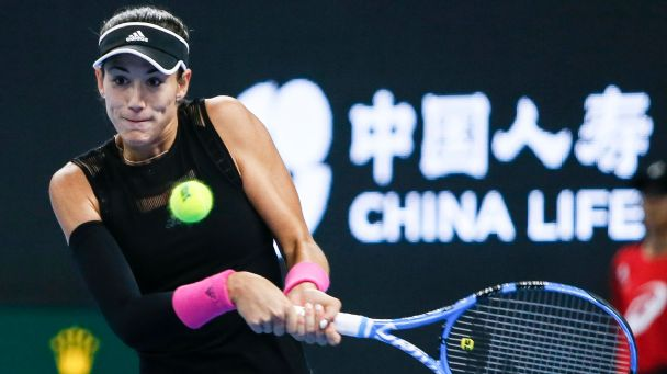 Garbine Muguruza is into the second-round of the Hong Kong Open after beating fellow Spaniard Sara Sarribes Tormo